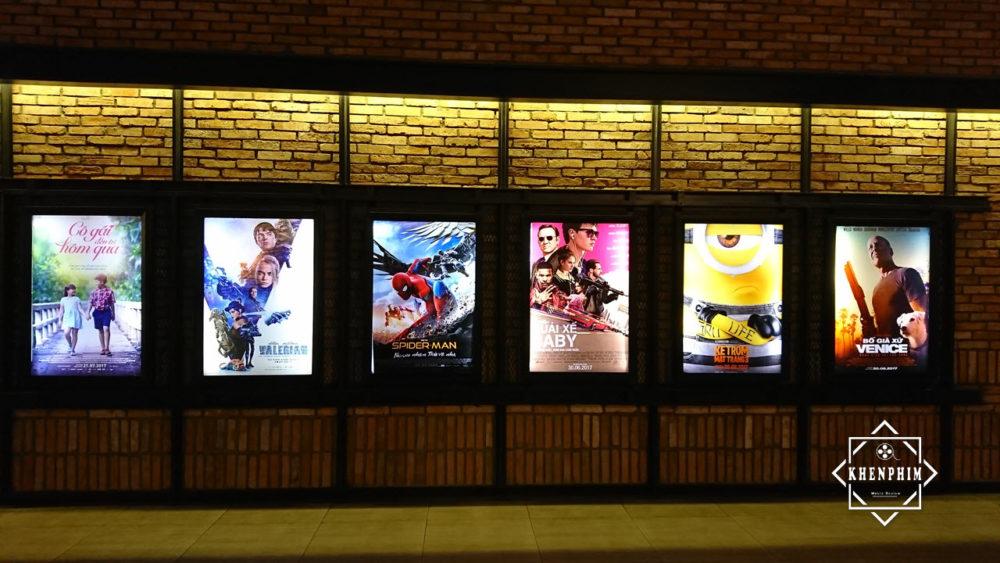 CGV Thảo Điền - poster ở lối vào