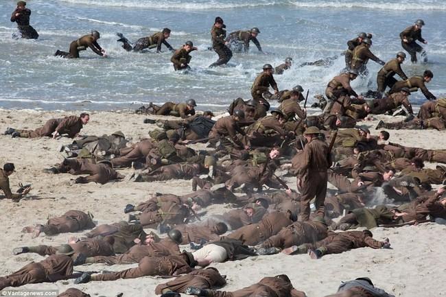 Dunkirk là bộ phim vô cùng chân thực