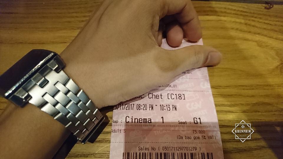 Vé xem phim Giao Ước Chết