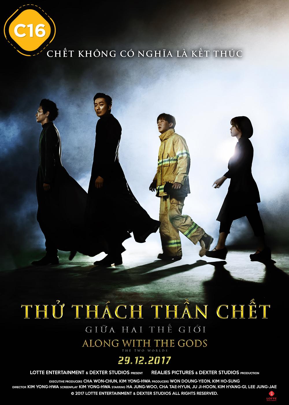 Poster phim Thử Thách Thần Chết - Giữa Hai Thế Giới