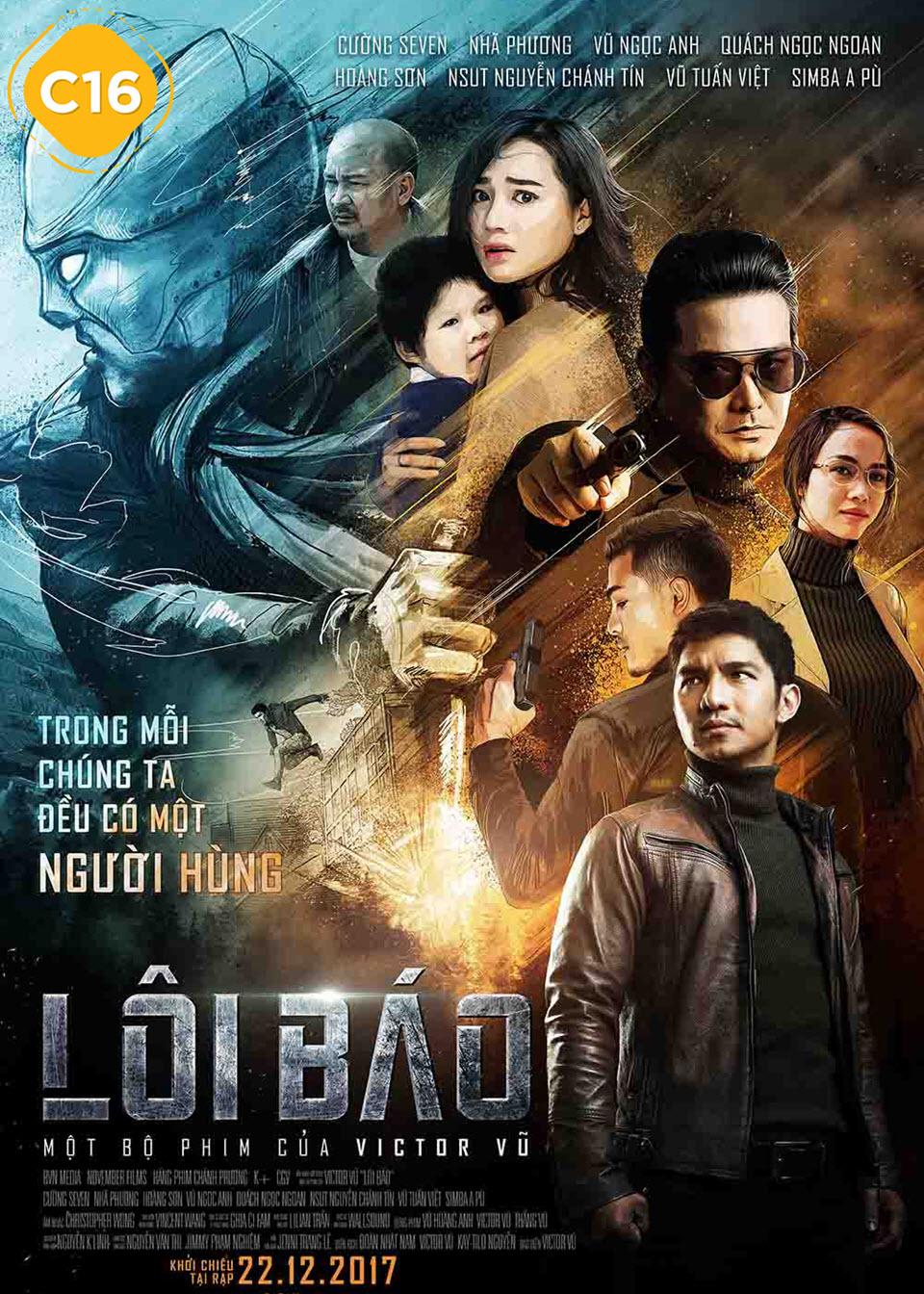 Poster phim Lôi Báo
