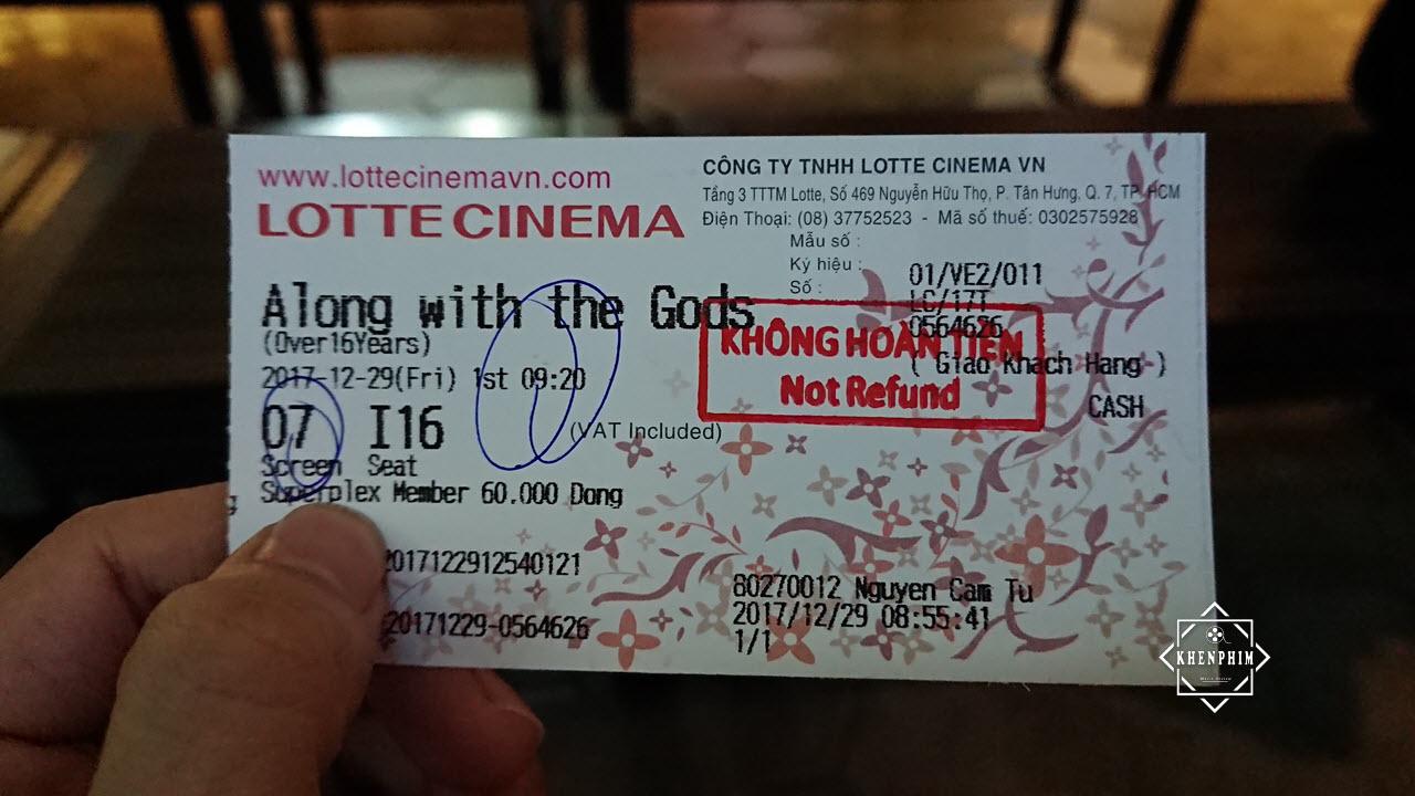 Vé xem phim Thử Thách Thần Chết tại phòng chiếu Superplex