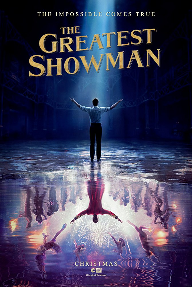 Poster của The Greatest Showman