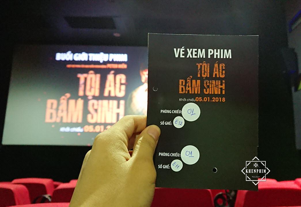 Vé xem phim Tội Ác Bẩm Sinh