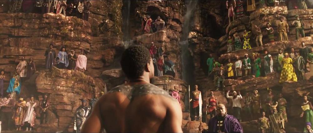 Kỹ xảo hình ảnh cũng là điểm cộng lớn của Black Panther