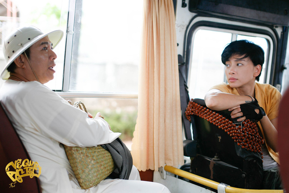 Diễn viên Trung Dân và Ngô Thanh Vân