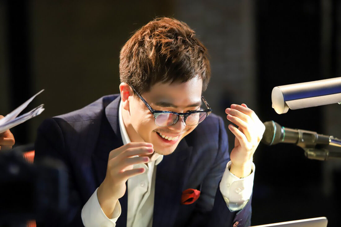 Trịnh Thăng Bình vào vai 1 phát thanh viên - Ông Ngoại Tuổi 30
