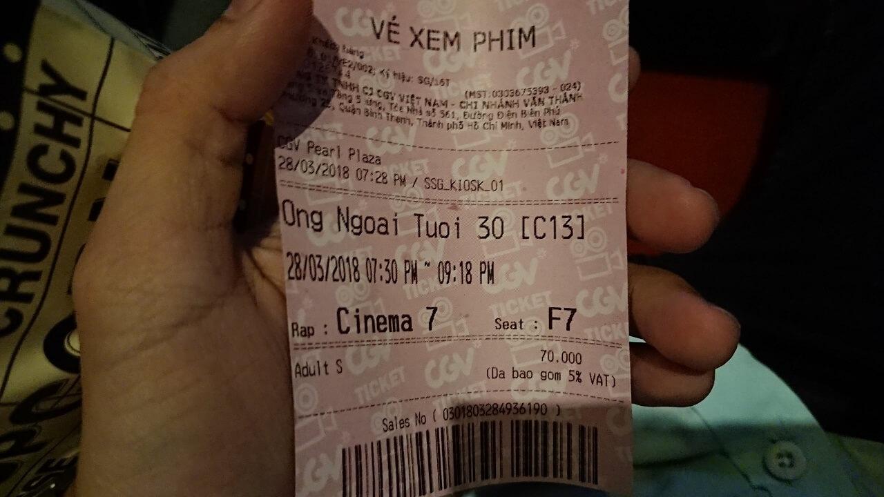 Vé xem phim Ông Ngoại Tuổi 30