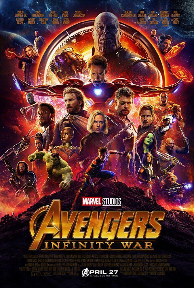 Poster phim Avengers: Infinity War