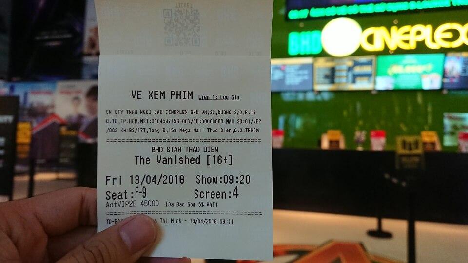 Vé xem phim Xác Chết Trở Về