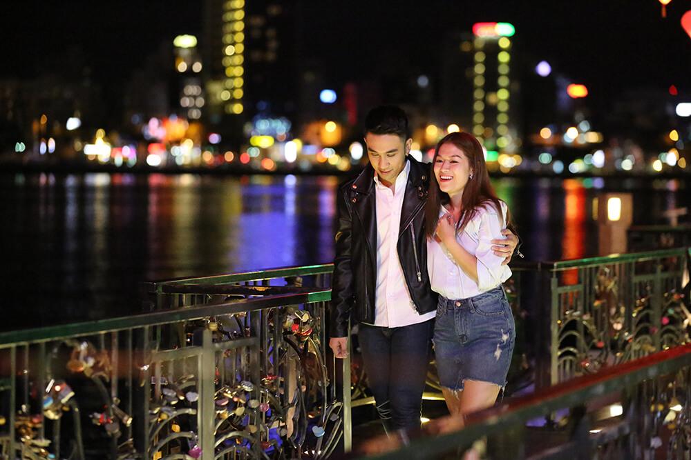 Ngọc Thanh Tâm cùng bạn trai cũ trong phim Yêu Em Bất Chấp