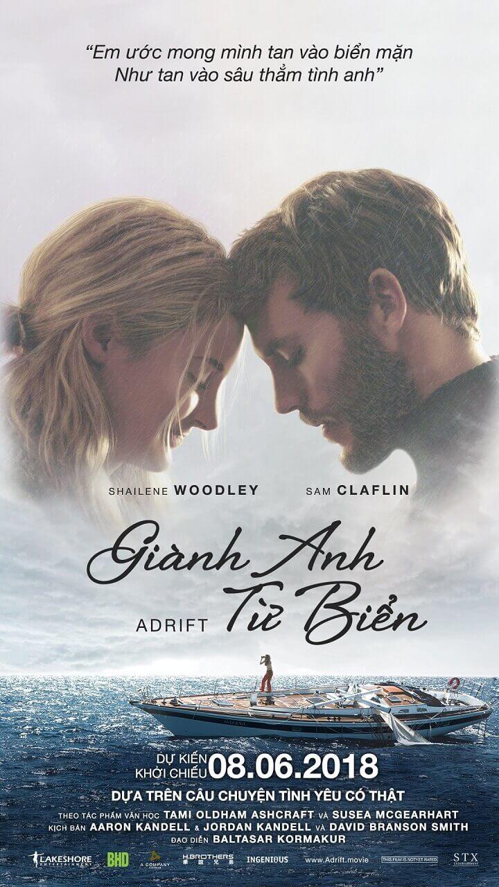 Poster phim Adrift (Giành Anh Từ Biển)