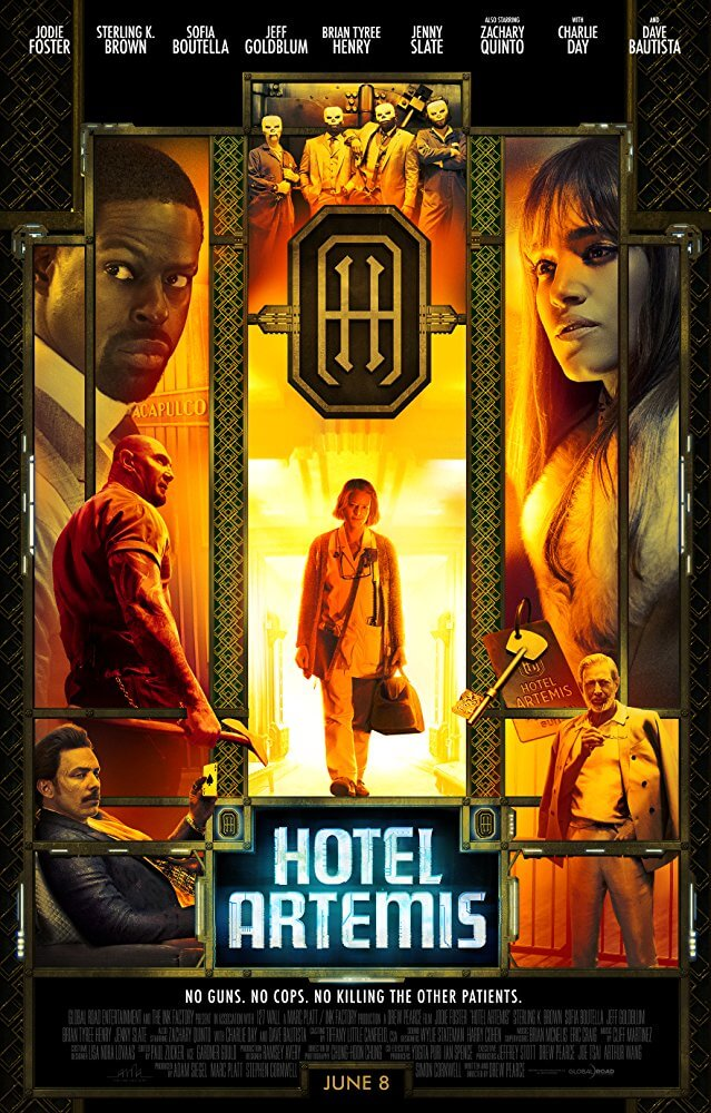 Poster phim Hotel Artemis