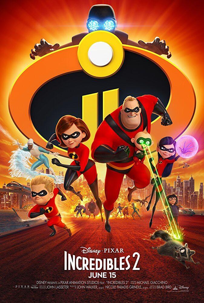 Poster phim Gia đình siêu nhân 2 - Incredibles 2