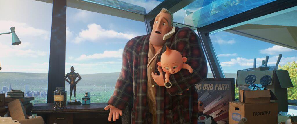 bố Bob - Gia đình siêu nhân 2 - Incredibles 2