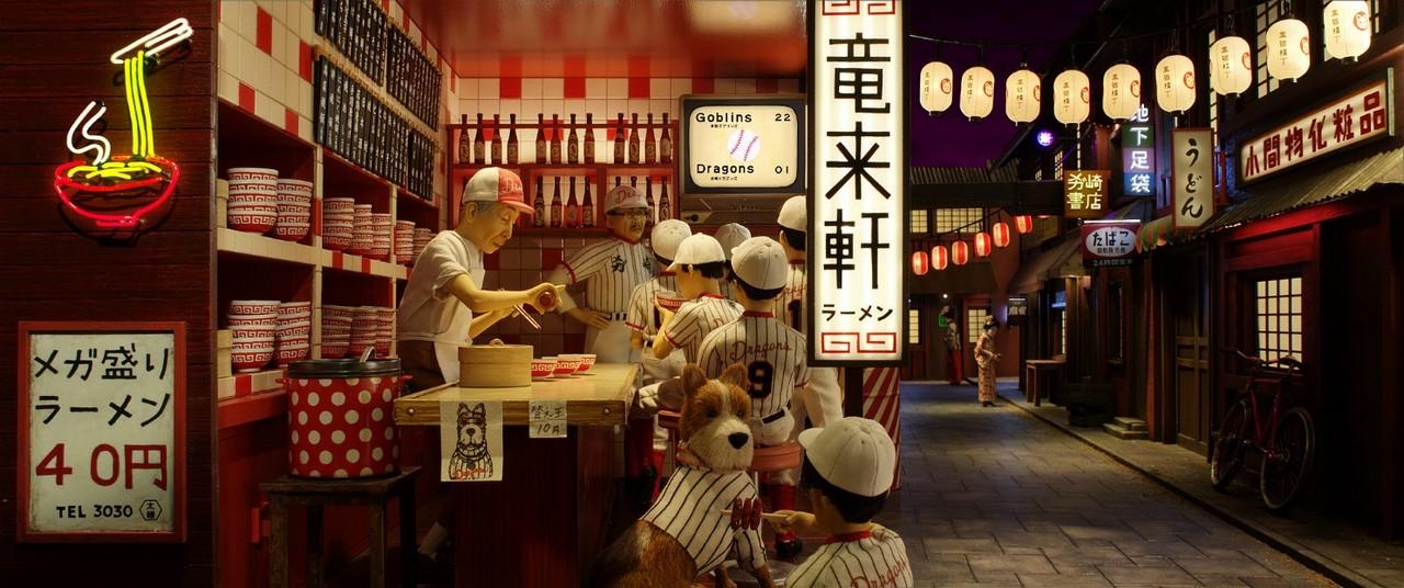 Văn hóa Nhật được khắc họa rõ ràng trong Isle of Dogs