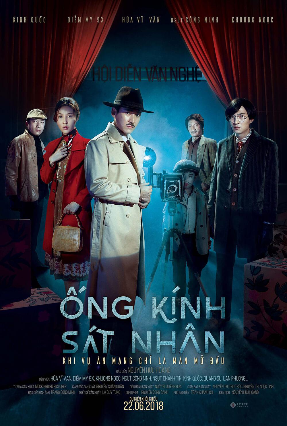 Poster phim Ống Kính Sát Nhân