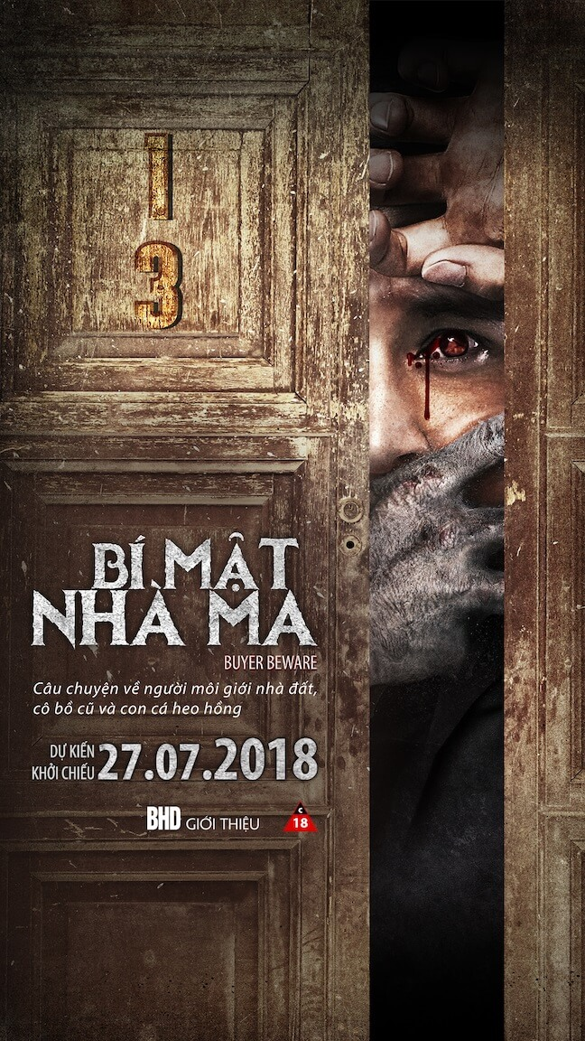 Poster phim Bí Mật Nhà Ma