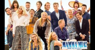 Mamma Mia! Here We Go Again banner