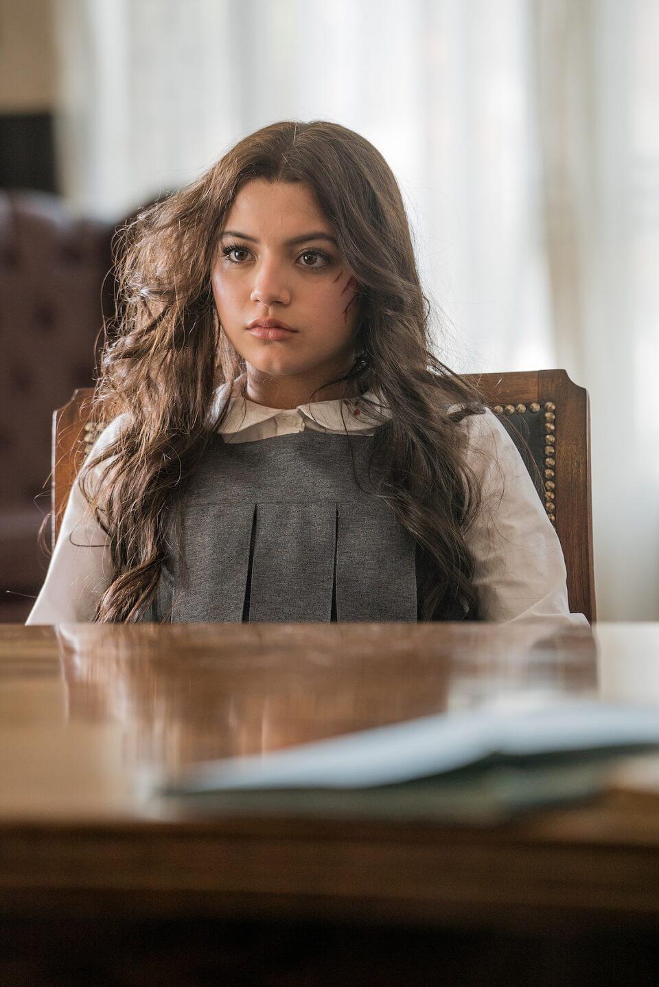 Con gái của ông trùm trong phim Chiến Binh Mexico