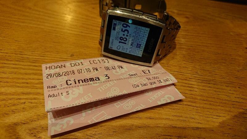 Vé xem phim Hoán Đổi