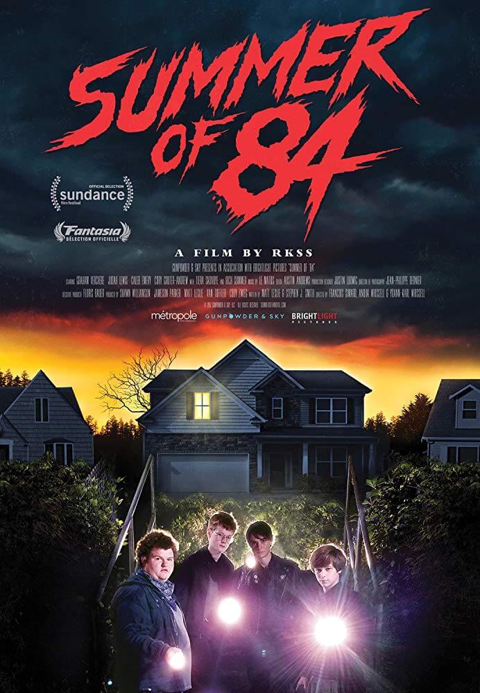 Poster phim Summer of 84 (Mùa Hè Kinh Hoàng '84)