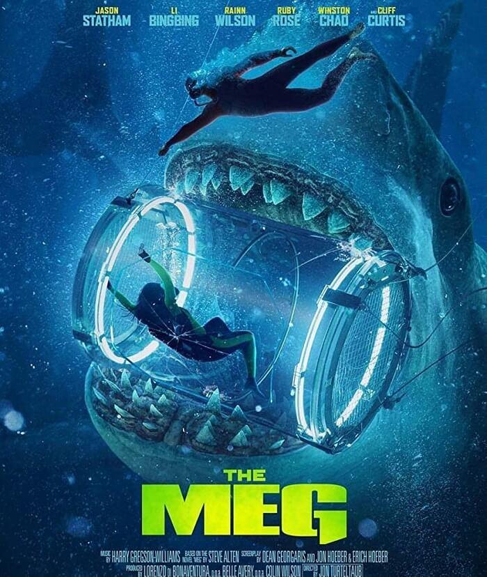 Một poster khác của phim The Meg