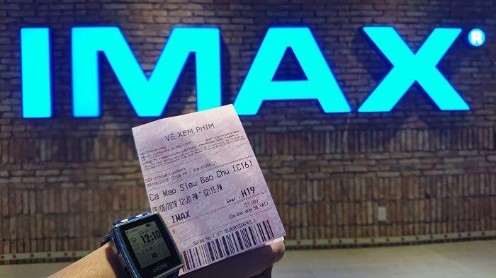 Vé xem phim The Meg tại rạp IMAX CGV Landmark 81