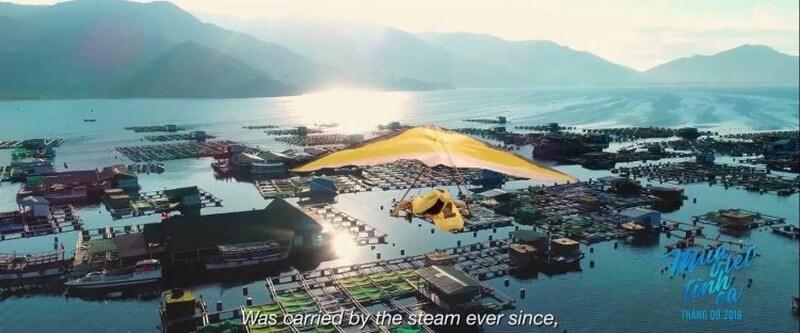 Các cảnh bay lượn như thế này đa số là không thật - Mùa Viết Tình Ca