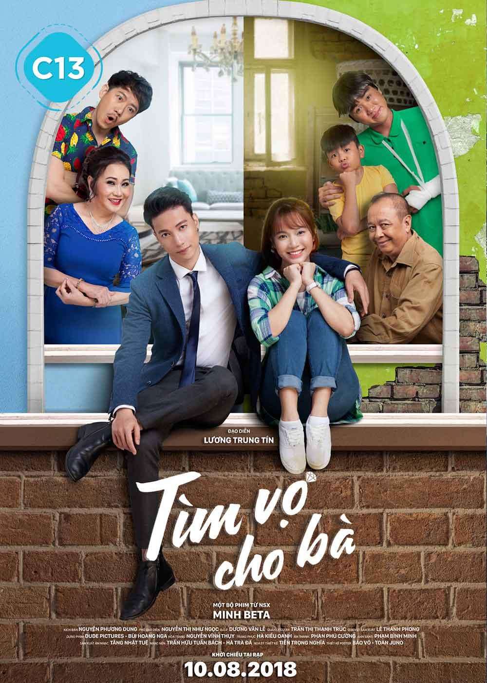 Poster phim Tìm Vợ Cho Bà