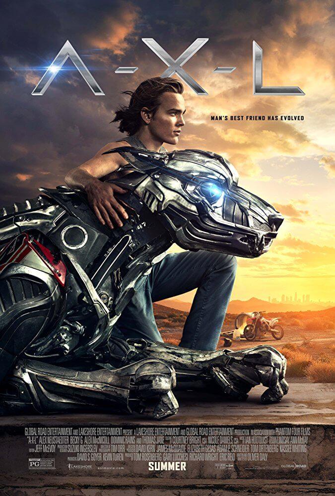 Poster phim A-X-L Chú Chó Robot