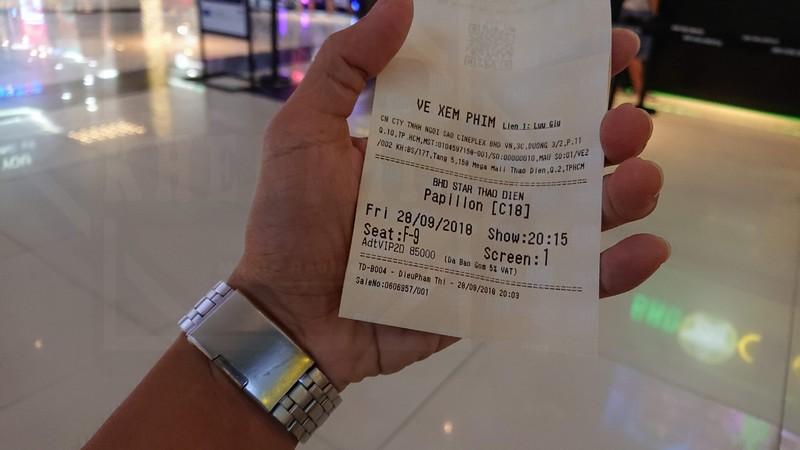 Vé xem phim Papillon (Người Tù Khổ Sai)