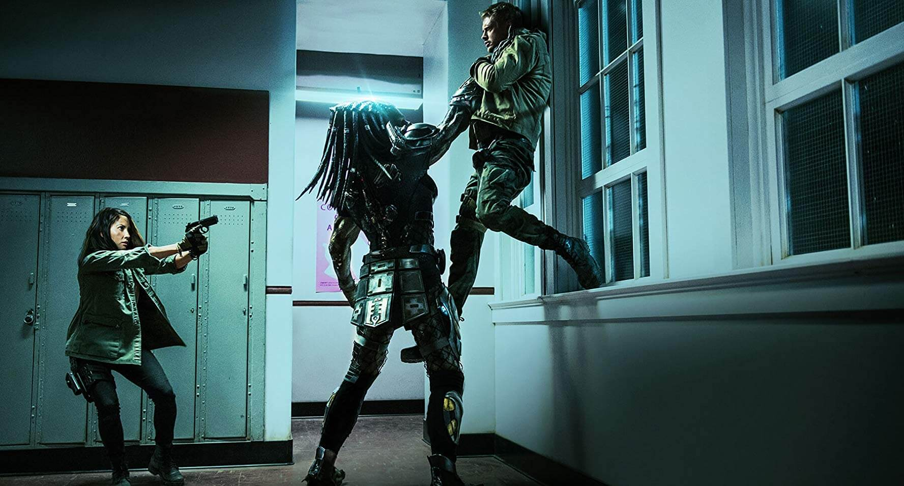 Một cảnh trong phim Quái Thú Vô Hình (The Predator)