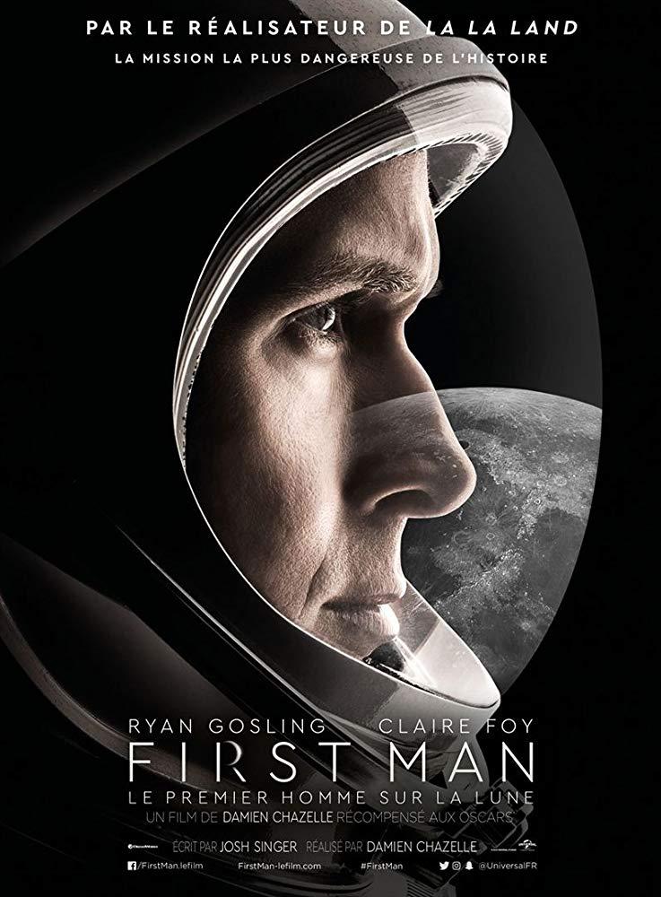 Poster phim First Man (Bước Chân Đầu Tiên)