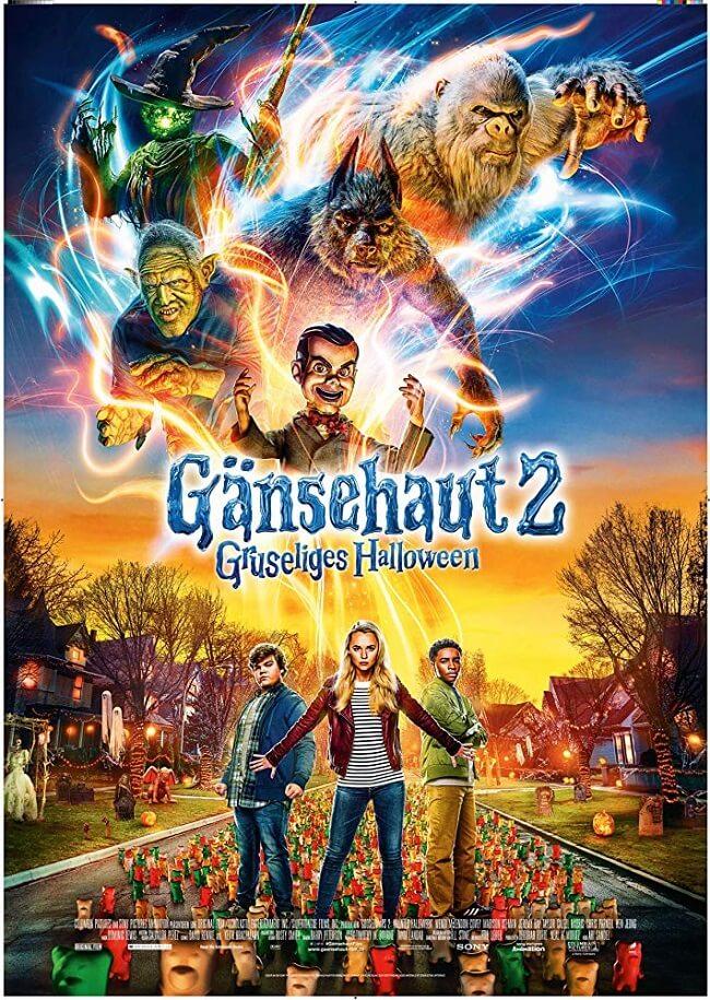 """Poster """"Goosebumps 2: Haunted Halloween"""" - Câu Chuyện Lúc Nửa Đêm 2: Đêm Quỷ Ám"""