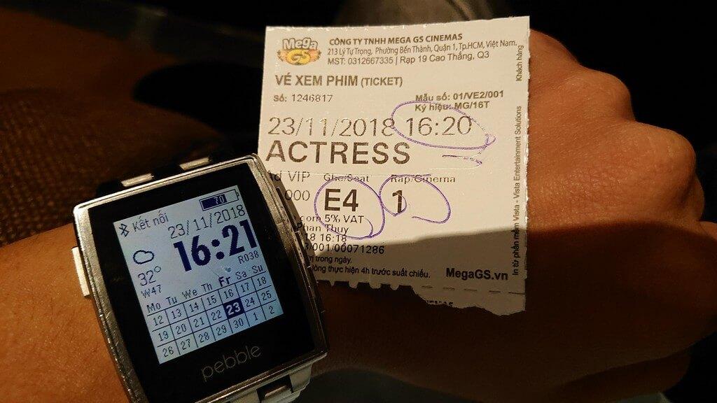 Vé xem phim phim Vai Diễn Đổi Đời (Actress Wanted)