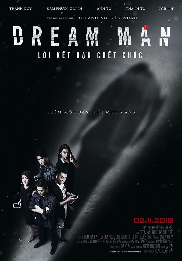 Poster phim Lời Kết Bạn Chết Chóc (Dream Man)