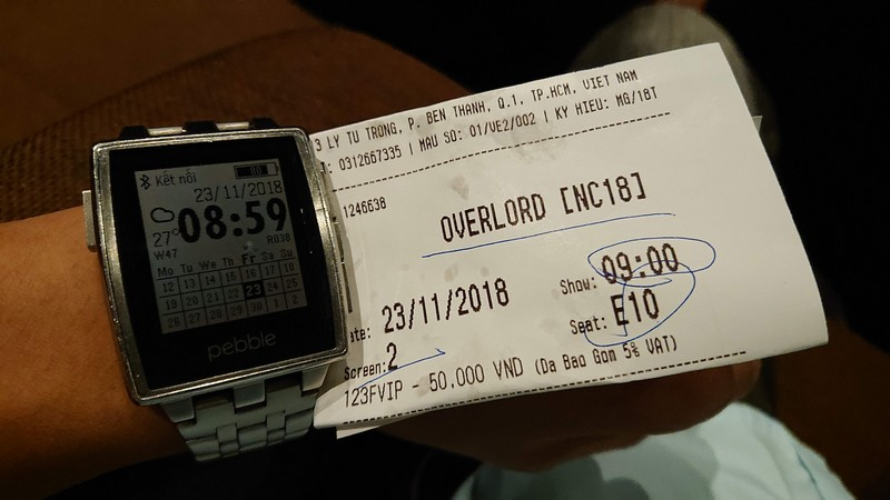 Vé xem phim Chiến Dịch Overlord