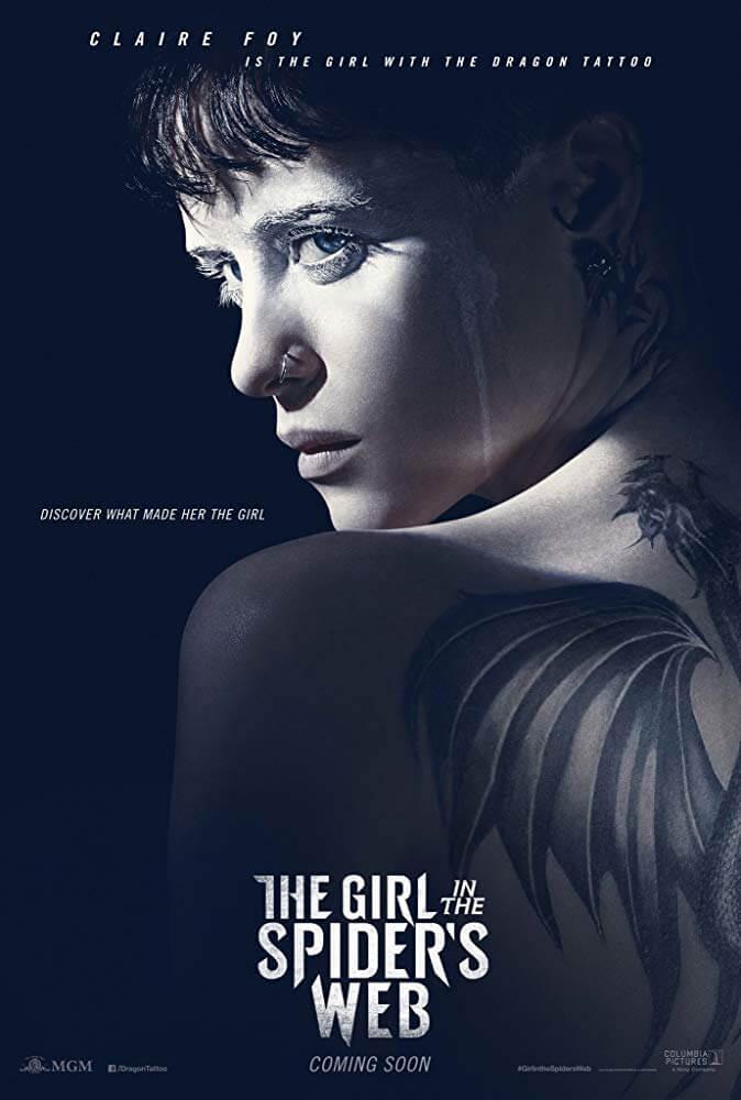 Poster phim Cô Gái Trong Lưới Nhện Ảo (The Girl in the Spider's Web)
