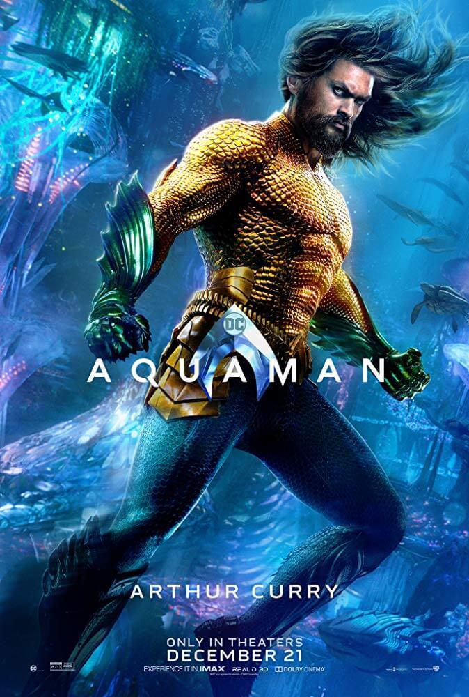 Poster phim Aquaman: Đế Vương Atlantis