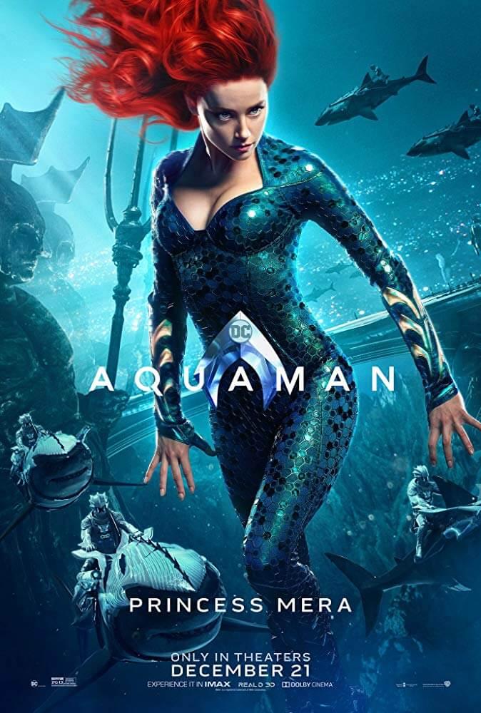Chị gái xinh đẹp trong phim - Aquaman: Đế Vương Atlantis