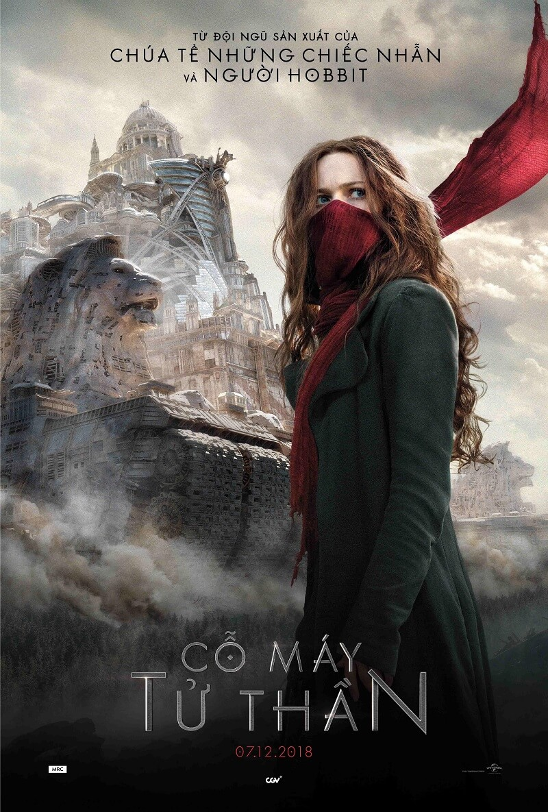 Poster phim Mortal Engines (Cỗ Máy Tử Thần)