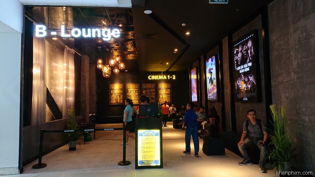 Lối vào B-Lounge (phòng chờ VIP) dành cho khán giả rạp 1 (onyx) & 2
