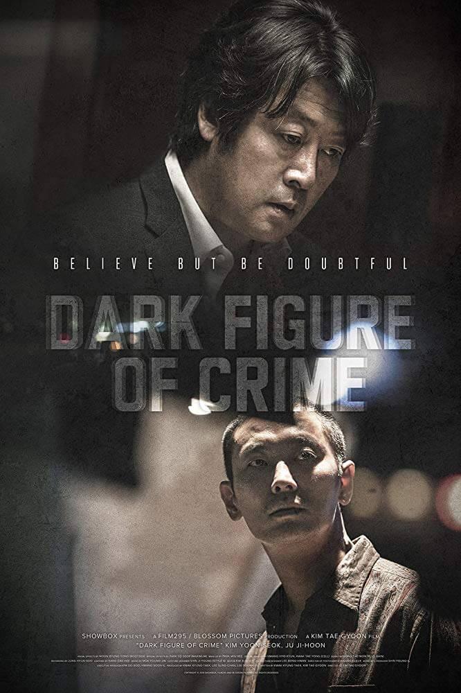 Poster phim tập trung mô tả sự đối đầu của 2 nhân vật chính - 7 Thi Thể