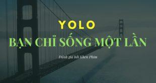 Đánh giá phim YOLO – Bạn chỉ nên xem phim khác
