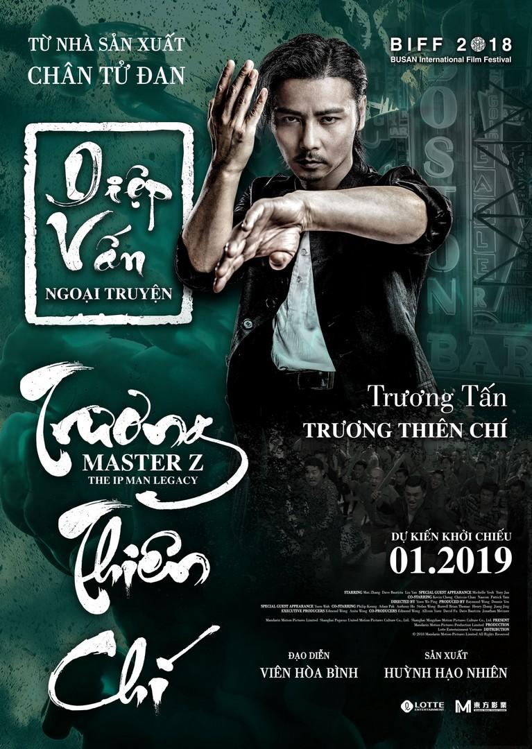 Poster phim Diệp Vấn ngoại truyện: Trương Thiên Chí