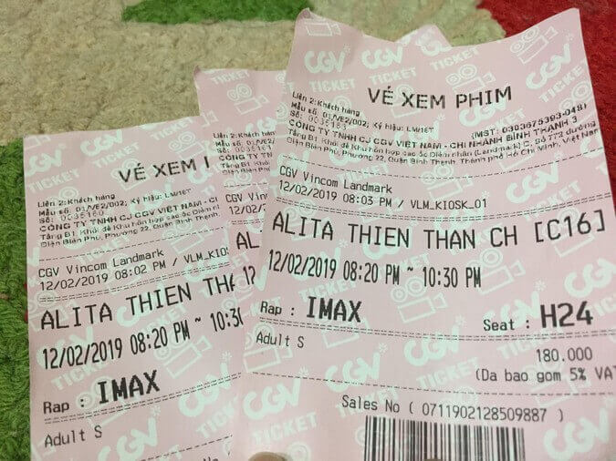 Vé xem phim IMAX Alita: Thiên Thần Chiến Binh