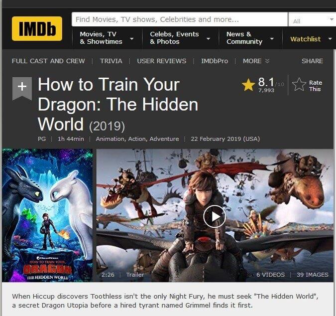 Bí Kíp Luyện Rồng 3: Vùng Đất Bí Ẩn - IMDb